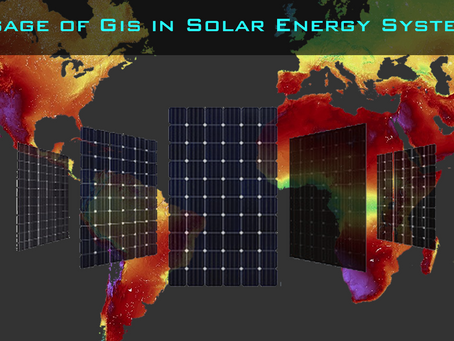 Usage of GIS in Solar Energy Systems