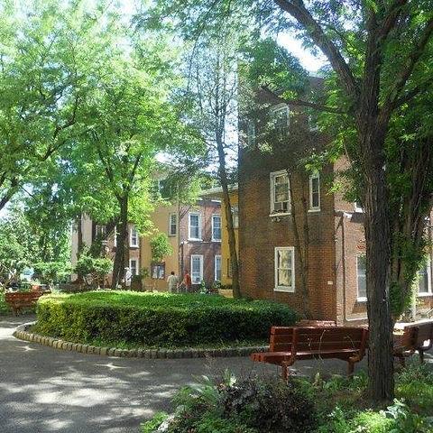 Friends Housing Courtyard