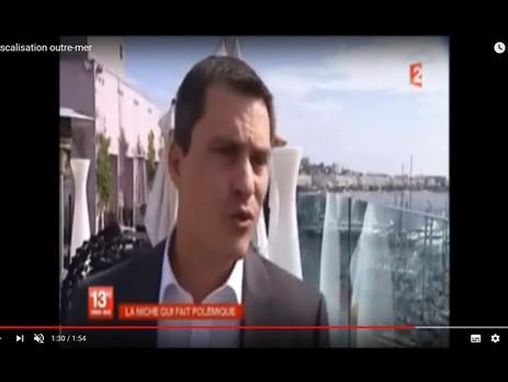 Reportage France 2 diffusé au JT de 13h du 29/09/2012