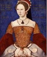 メアリー1世 英国 女王 チューダー王朝
