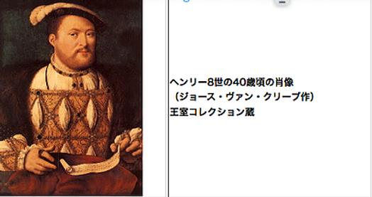 ヘンリー8世 英国 国王 チューダー王朝