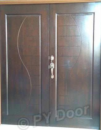 PY88L Nyatoh / Main Door / Pintu Kayu