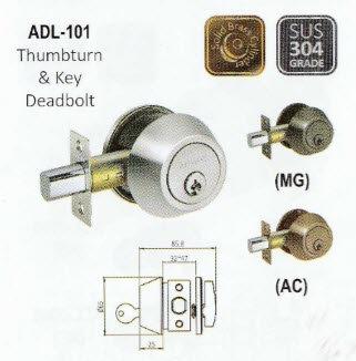 Deadbolt Lock PADL-101