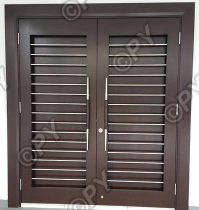 PYSS63-L Double Layer Safety door malaysia