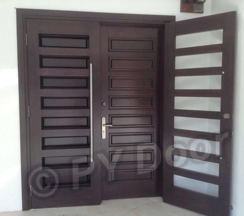 Security Door - Double Layer