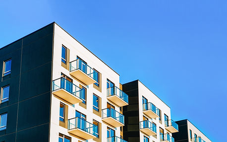 Fragment of Modern residential apartment