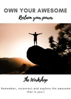 Own Your Awesome Re-claim Your Power e-workshop
