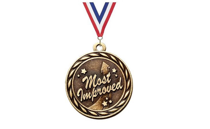 """SRRC is accepting nominations for """"Most Improved"""" thru 12/4/2017"""