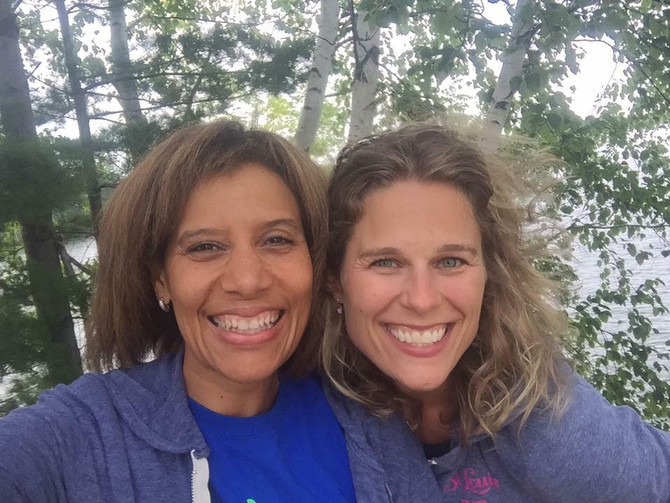 Carrie Ward and Melissa Wiseman, Abe's Amble's race directors, to lead Abe's Army in 201