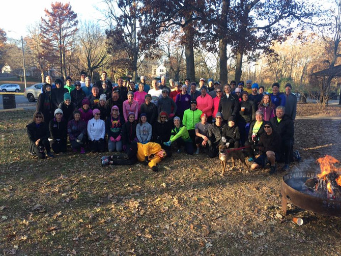 It was a fun Cold Duck Run on Thanksgiving Morning!