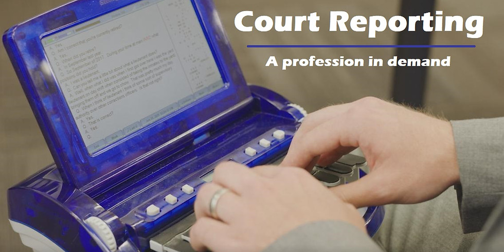 FirstSteps - Learn about Court Reporting