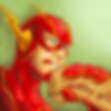 flash_eating_a_hero_sandwich__colored__b