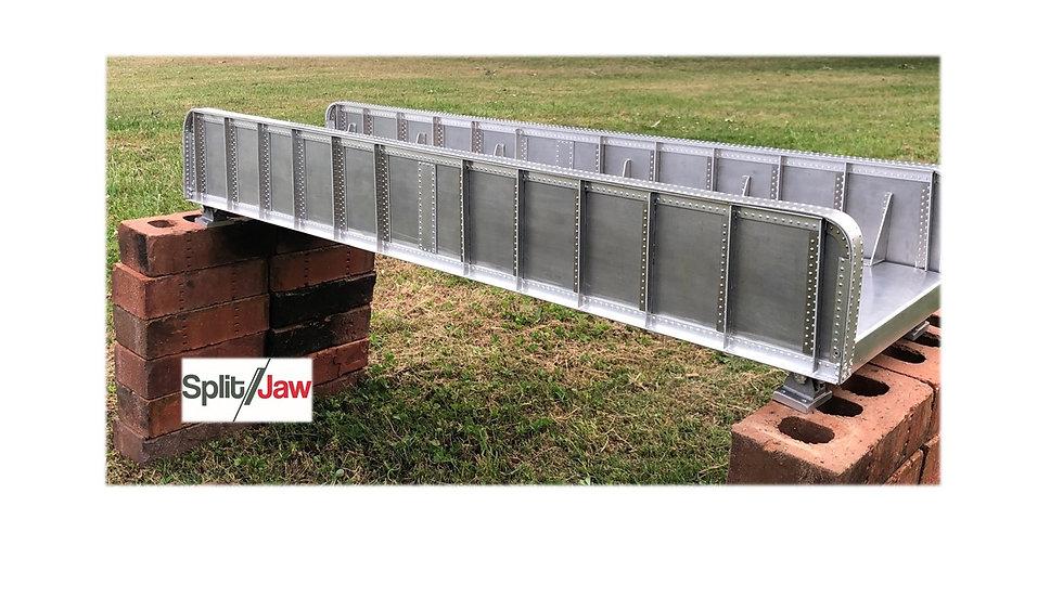 Single Track 37 inch girder bridge. Super detailed.