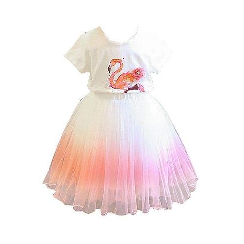 Prissy flamingo 2 piece