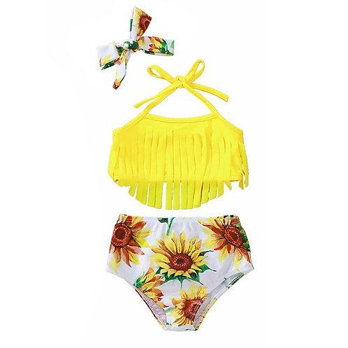 Sunflower 3 piece swimsuit