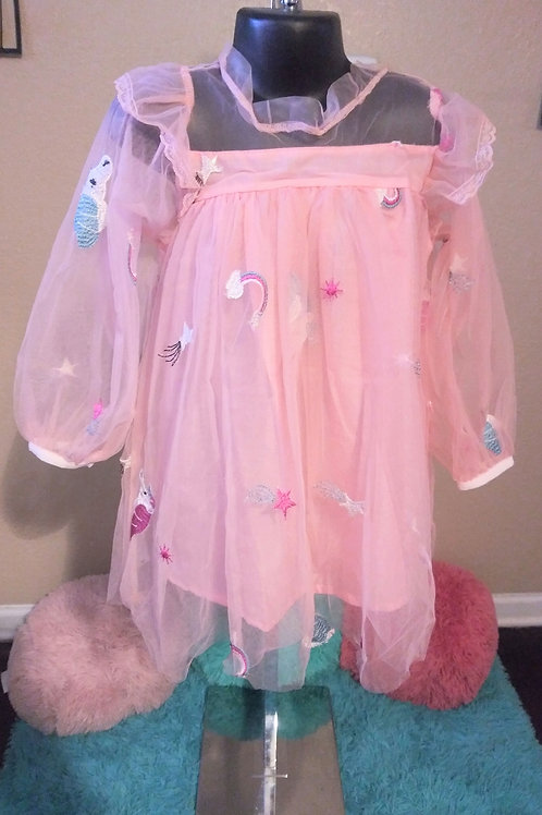 Unicorn babydoll dress