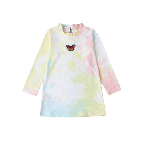 Knitted Sherbert butterfly dress