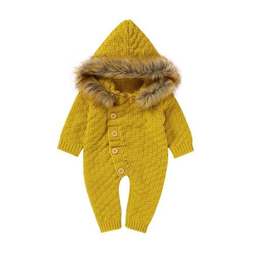 Fur hooded jumpers