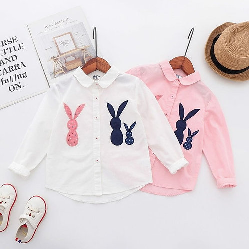 Casual bunny button up