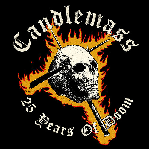 "Candlemass - ""25 Years of Doom"" Limited T-shirt"