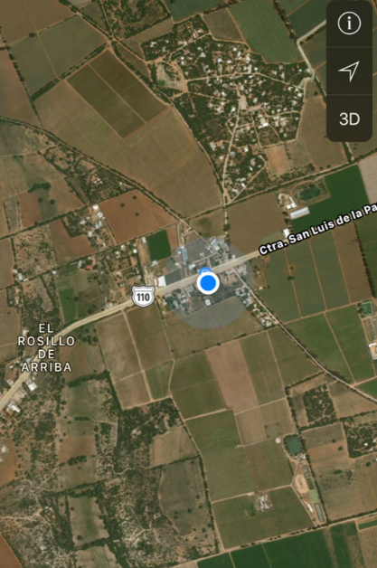 Carretera a San Luis de la Paz