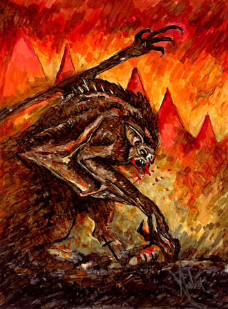 """Warhammer Varghulf"""