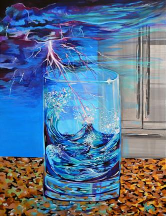 """""""Una tormenta en un vaso con agua"""""""