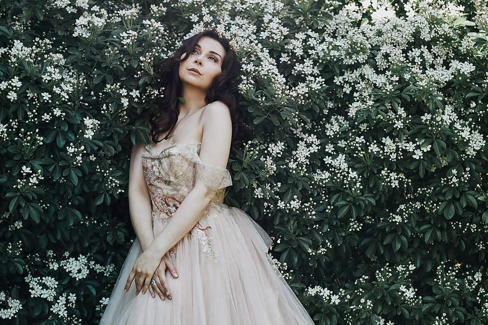Fairytale Photography by Bella Kotak. Model Honey Malone.
