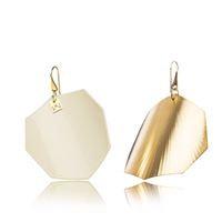 CREAMYWHITE-OCTAGON-YELLOW GOLD