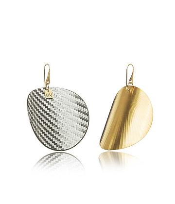 GRAYFIBER-CIRCULAR-YELLOW GOLD