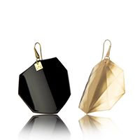 BLACK-OCTAGON-YELLOW GOLD