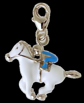 Jockey with his horse