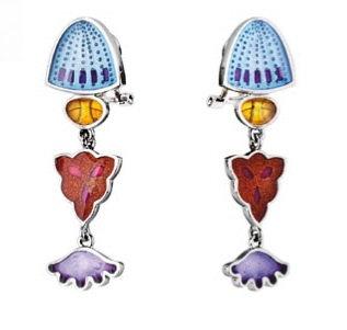 Diatomeas earring