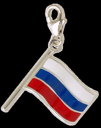 Orosz Zászló Charm