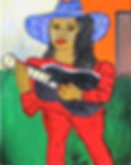Girl-with-Black-guitar-14-x-11-acrylic-o