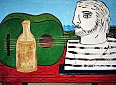 Green-guitar-28-x-16-acrylic-on-canvas-Francisco-Vidal-jpeg