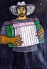 Man-with-green-acordeoun-24x16-acrylic-on-canvas-francisco-vidal-jpeg