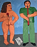 Flautist-with-nude-with-flower-62-x50-acrylic-on-canvas-Francisco-Vidal-jpeg
