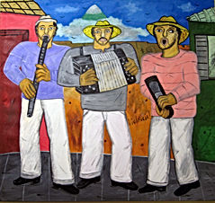 Music on the street 2019acrylic on canvas 52x48 FranciscoVidal$35.000jpeg