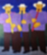 The-Three-Flautits-60-x-52-painting-Fran