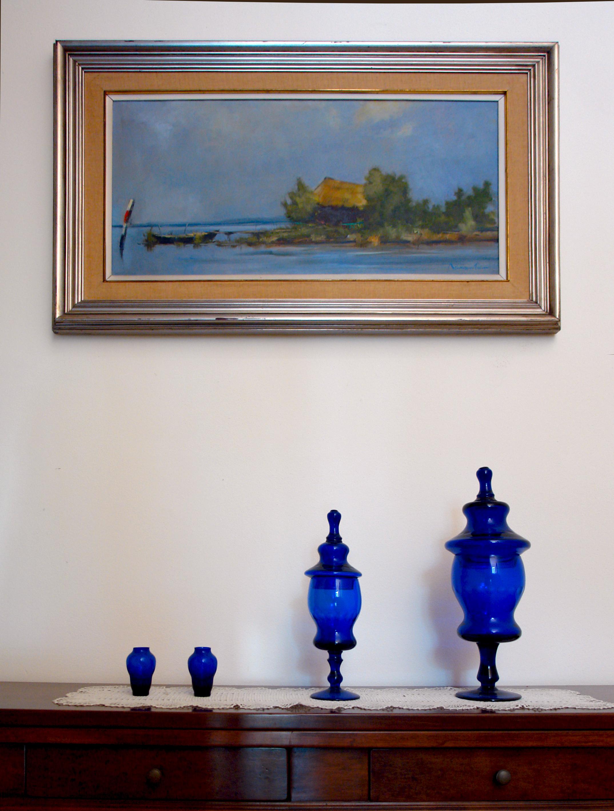 vasi blu