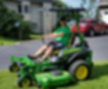 John Deere mower with Rhinohide canopy.j