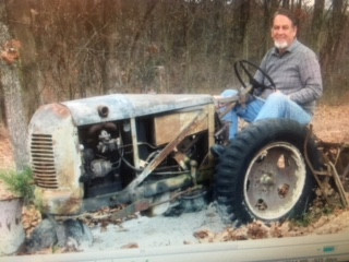 Mack McCoys last tractor build. Refound