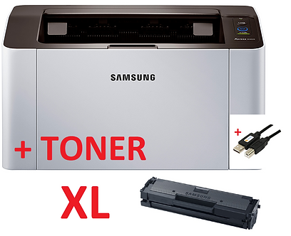 XL-Laser-Printer-Samsung-B-N-m2026-NEW-a4-including-Toner-XL-and-USB-Cable