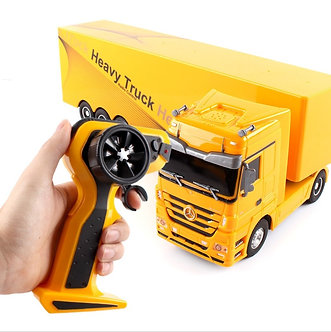 2.4G RC Heavry Toy Remote Control Tip Lorry Auto Lift Engineer 1:32 RC