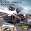 Thumbnail: 2020 NEW 1:12 RC Car  2.4GHz 4WD With HD Camera Cars Off Road Buggy Toy High