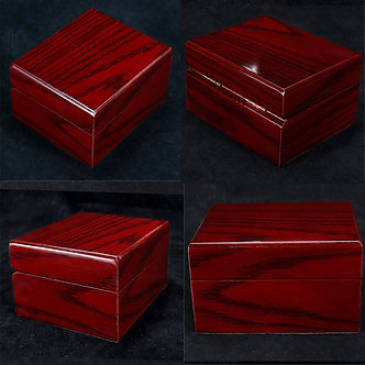 4Pcs Wood Watch Display Box Case Collection, Vintage Style Jewelry Storage