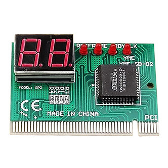 2-Digit PC Computer Mother Board Debug Post Card Analyzer PCI Motherboard