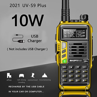 2021 BaoFeng UV-S9 Plus Powerful Walkie Talkie CB Radio Transceiver 8w/10w 10km