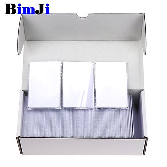 100pcs RFID Card 13.56Mhz MFS50 Proximity Smart Cards ISO14443A Cards S50 Chip